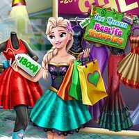 Ice Queen Realife Shopping Play
