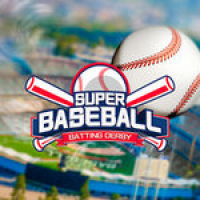 Super Baseball: Batting Derby Play